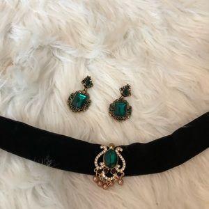 Beautiful Emerald set